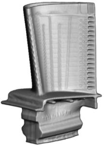 high pressure turbine blade