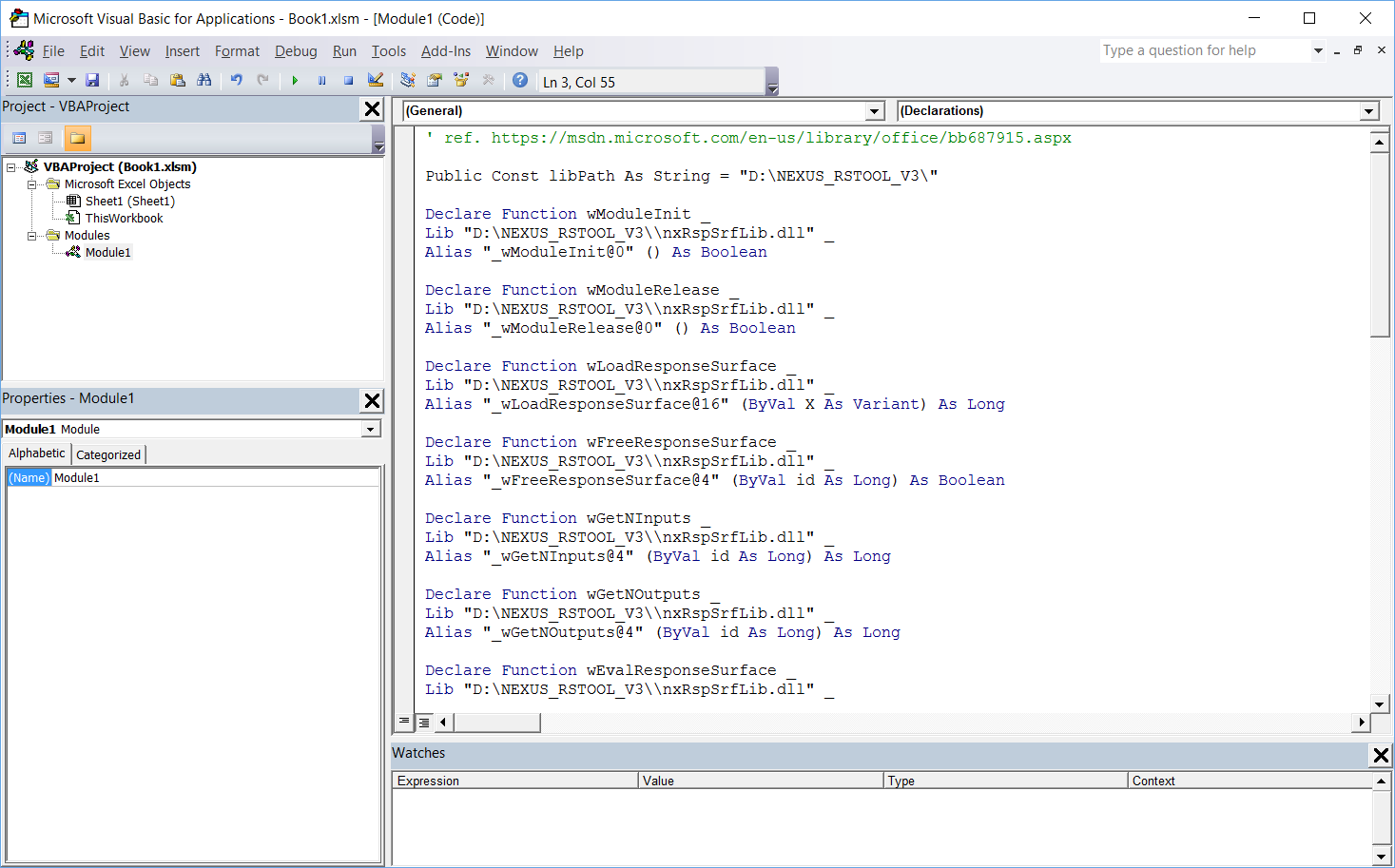Declare Function Lib Excel Vba adding PtrSafe to vba function call