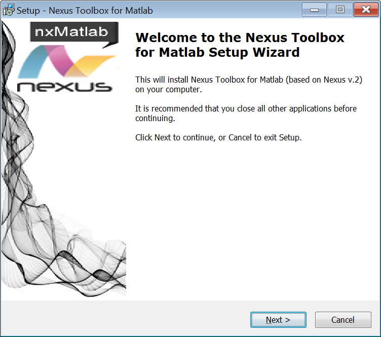 Calling Nexus from Matlab - iChrome