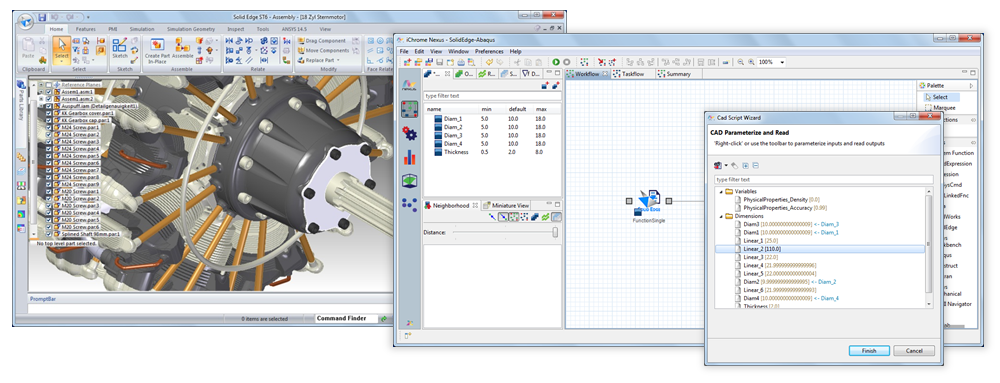 SolidEdge Direct Integration Node