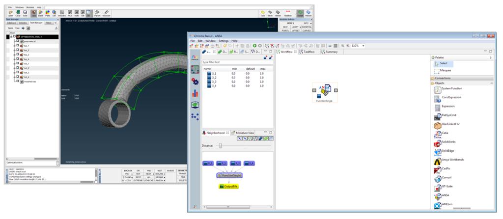 ANSA Direct Integration Node in Nexus