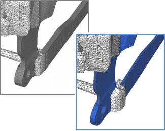Changes in geometries - Flange details