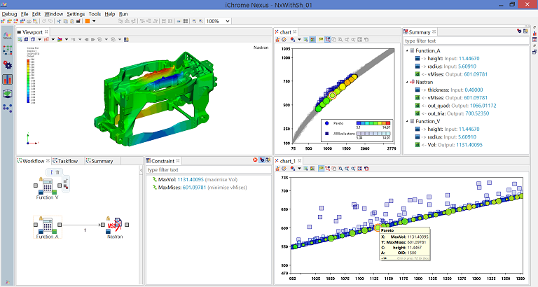 Embedded CAE-Viewer